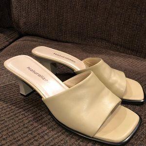 Naturalizer ivory heels